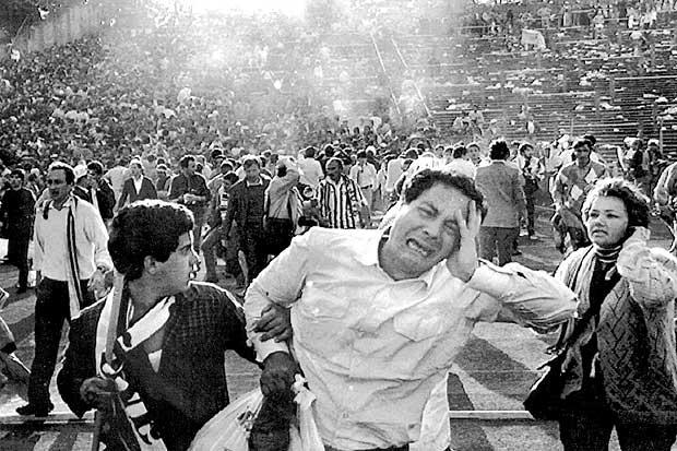 Ливерпуль ювентус 1985 видео трагедии